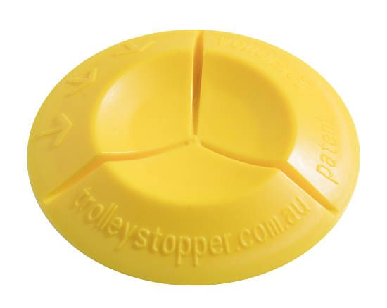Image of the Yellow Trolley Stopper