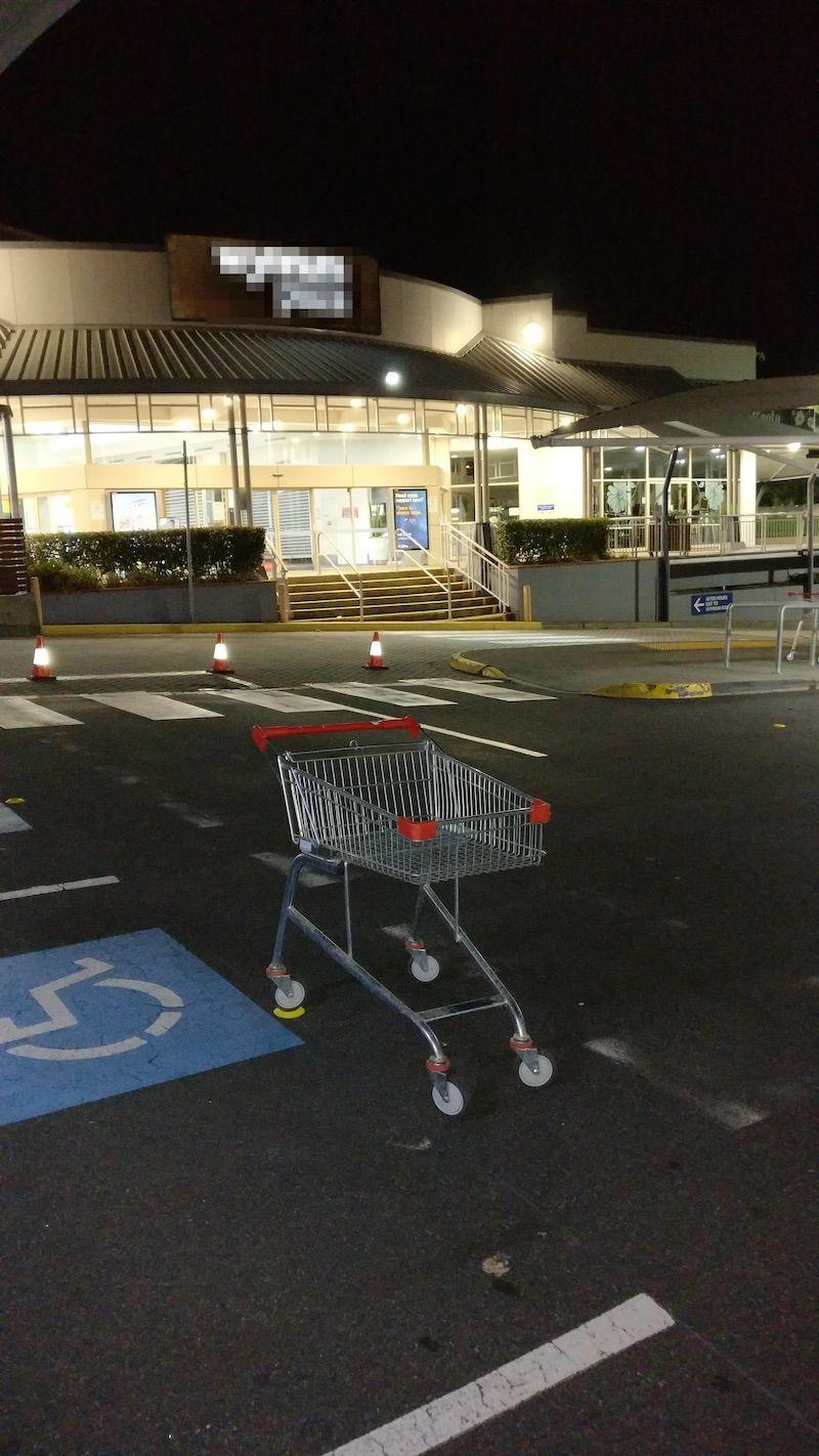 Trolley Stopper in action