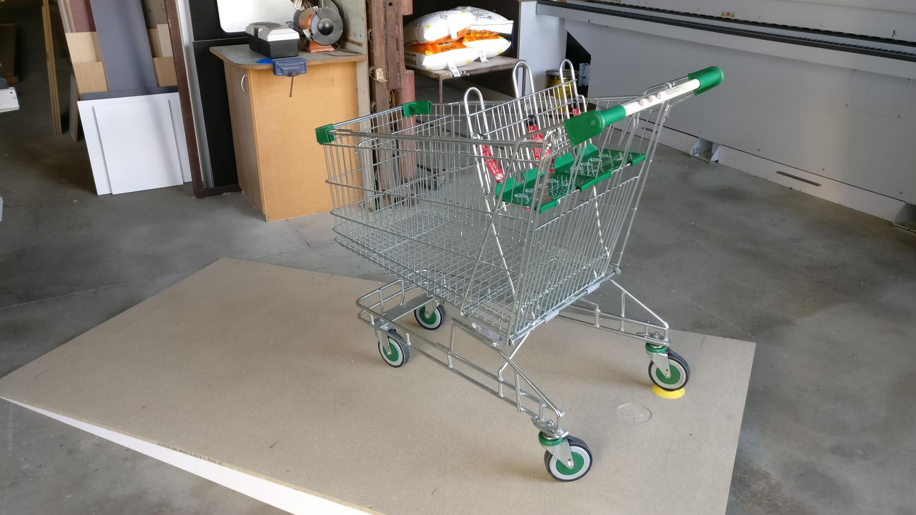 Trolley in Jig with no weight