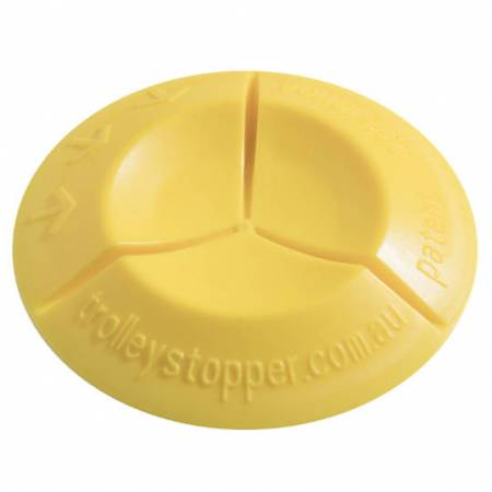 Image of Yellow Trolley Stopper by itself